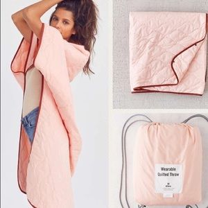 Urban Outfitters | Wearable Quilted Throw Blanket